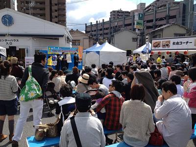 広島テレビ住宅展示場にてスマイミーをPR~広島 賃貸物件情報検索サイト スマイミー